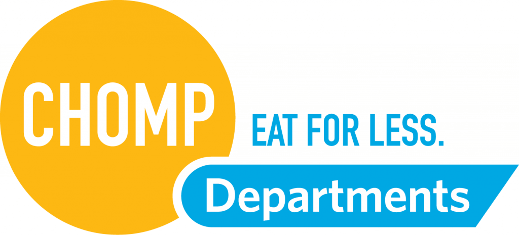 Chomp Departments logo