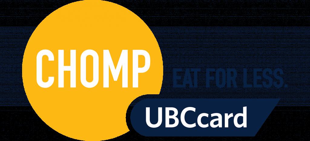 Chomp UBCcard logo