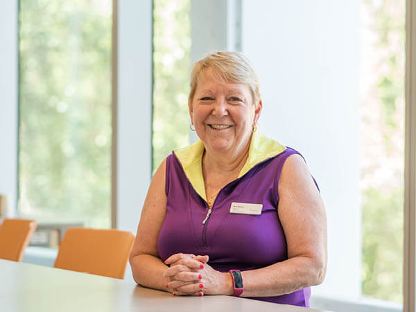 Photo of Rene Atkinson, UBC Food Services