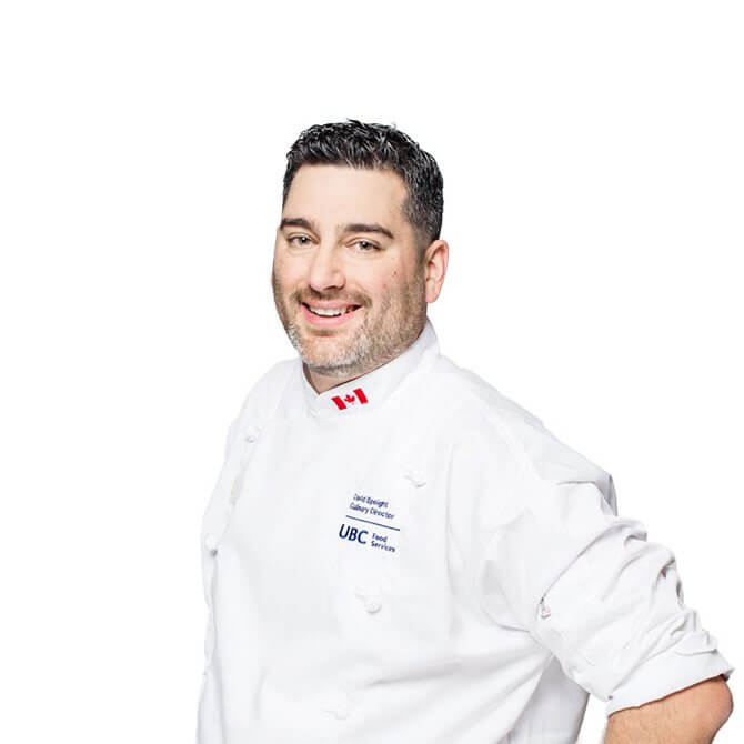 UBC Chef David Speight smiling against a white background