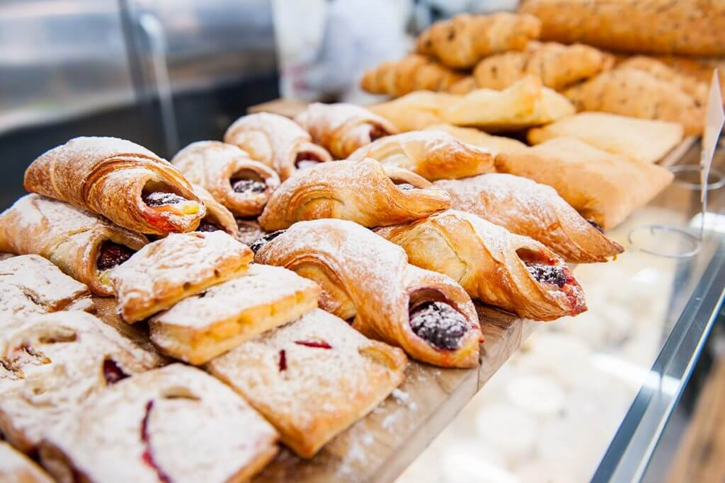 Various pastries