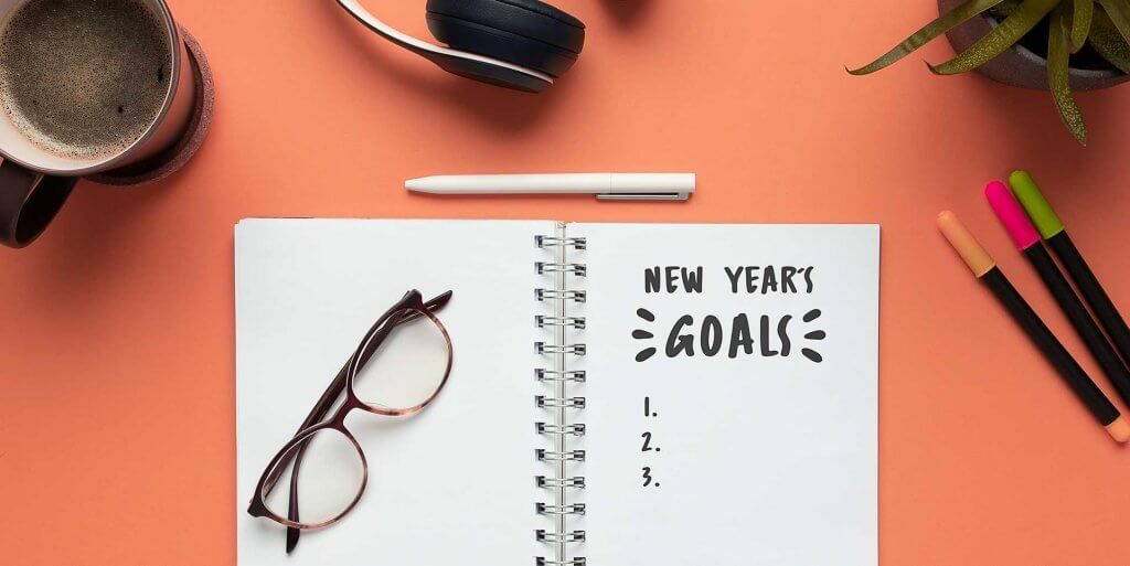 New Year's goals journal